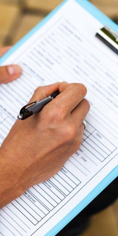 Formularfelder Krebsregistermeldung